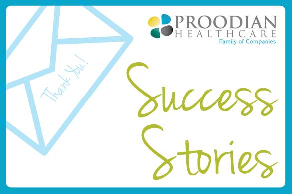 Proodian healthcare Patient Success Story