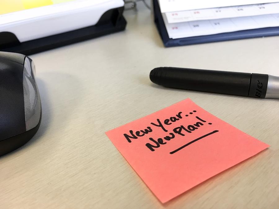 Don't Make a Resolution. Make a Plan.