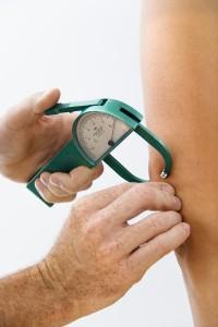 Body fat index measuring body fat